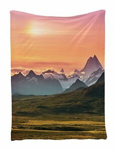 Sunset and Mountains Wall Hanging Tapestry for Living Room ...