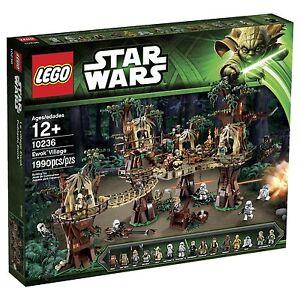 Lego Star Wars Ewok Village 10236-ucs Expédition Mondiale-afficher Le Titre D'origine