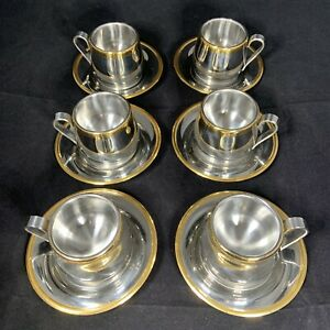 Meber Italy 18/10 Double Wall Stainless Steel Espresso ...