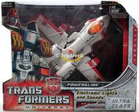 Transformers Universe Classic Ultra Class Powerglide Action Figure Shelf Wear