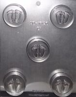 Baby Feet Chocolate Cookie Candy Mold From Ck 16120 -