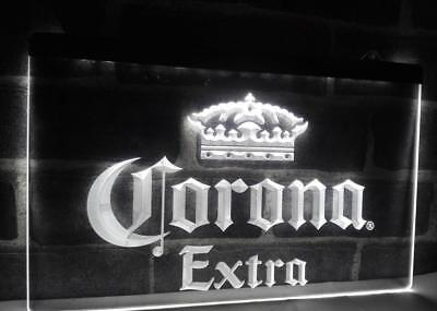 Corona Extra Imported Beer Sign Light Advertisement Neon Man Cave Pub  Yellow