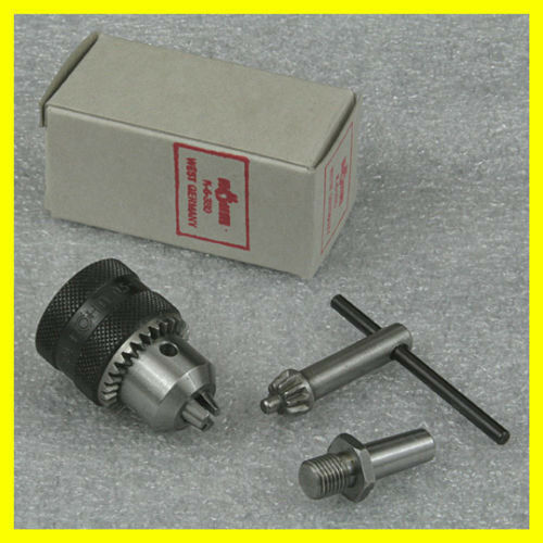 """1//4/"""" Rohm Drill Chuck with #0 Arbor for for  Sherline Lathe Tailstock Mount"""
