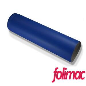 Film-auto-Bleu-Fonce-Mat-Protection-152-cm-x-100-cm-auto-adhesif-Conduits-d-039-air