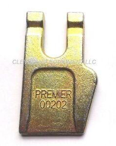 NEW AUGER WISDOM GAGE TOOTH Bolt On Teeth Bit Bobcat Danuser Premier Lowe gauge