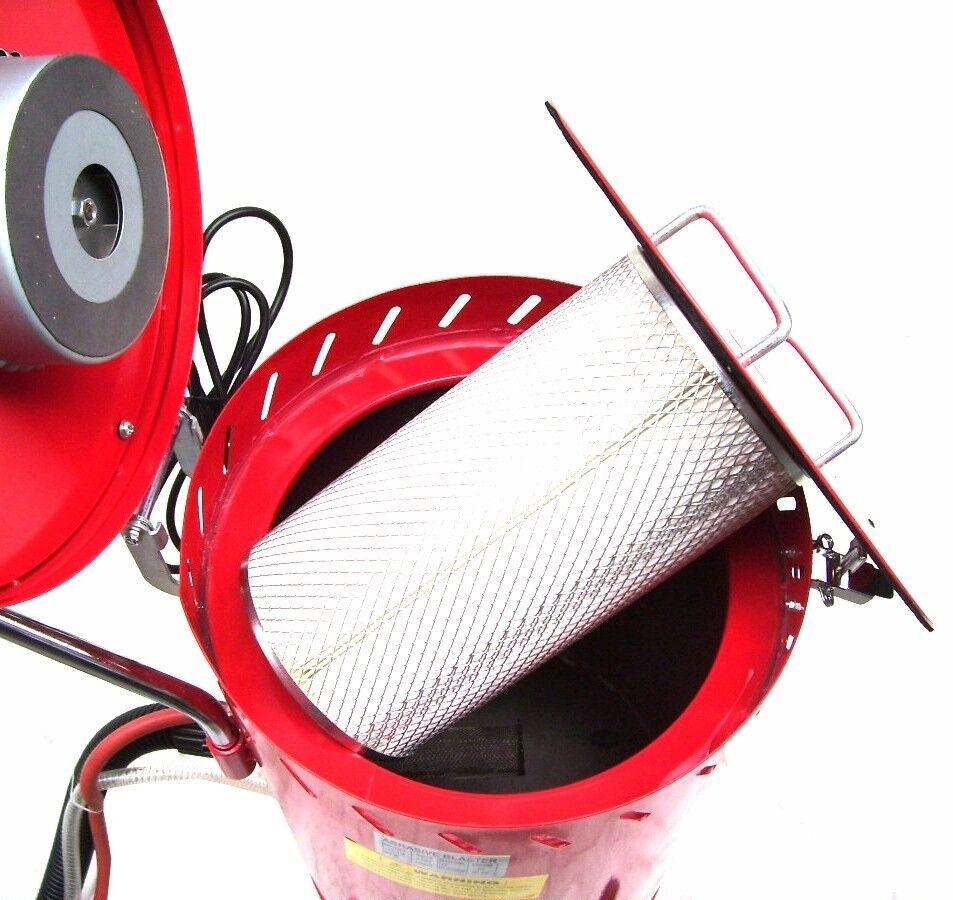 Sandstrahlkabine Strahlkessel SB28 Mobil Sandstrahlger/ät Sand R/ÜCKGEWINNUNG
