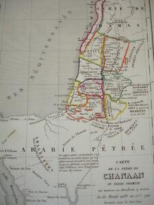 Carte de la Terre de Chanaan ou Terre Promise au moment ou Abraham y arriva yy4EeYJi-08062344-506094603