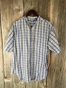 Brittania by Levi Strauss Size L Collar Button Shirt 7A14