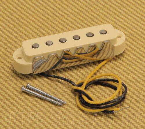 005-4494-049 Genuine Fender AVRI American 62/' Jaguar Bridge Pickup w// Aged Cover