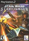 Star Wars: Starfighter (Sony PlayStation 2, 2001) - European Version