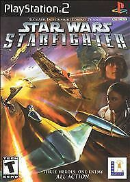 Playstation 2 PS2 STAR WARS STARFIGHTER Complete