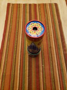 kaleidoscope.very colorful and is for all ages...had for about 15