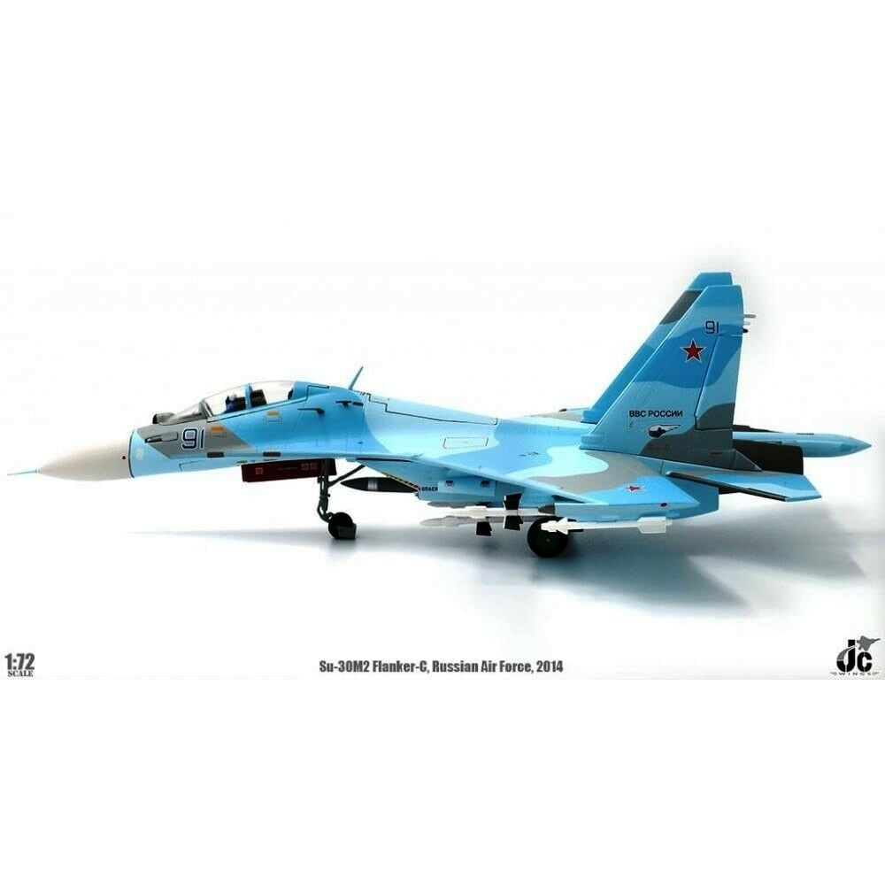 JC Wings JCW72SU30003 1 72 SU-30M2 FLANKER-C Russian Air Force 2014