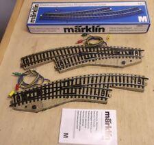 Wahl OVP Märklin//Marklin H0 Anschlussgleis 5111 5103 5131 M-Gleis n geprüft