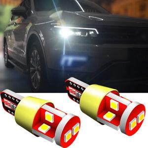 2x LED 501 T10 White Xenon To Fit Side Light Fiat Punto 188