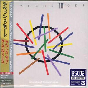 DEPECHE-MODE-SOUNDS-OF-THE-UNIVERSE-JAPAN-MINI-LP-BLU-SPEC-CD2-Ltd-Ed-F83