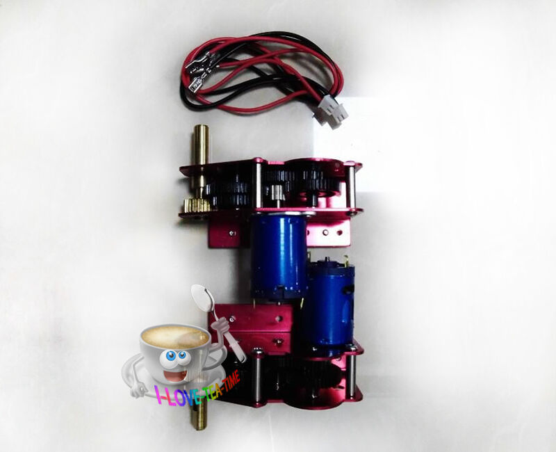 Ultimate II Gearbox 49cm for Heng Long Tank 3818 3819 3848 3849 3858 3859 3868