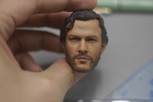 "minitimes M010 1//6th Seal Six Teams Curl ALEX  Head Sculpt For 12/"" Action"