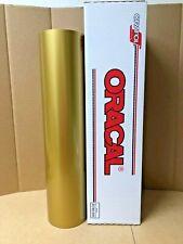 Oracal 651 1 Roll 24 X 50yd 150ft Gold 091 Metallic Sign Vinyl