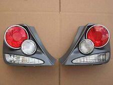 Fits Honda Civic Si Hatchback 3dr 2003 2005 Tail Lights Titanium 3d Retro Style Fits 2004 Honda Civic