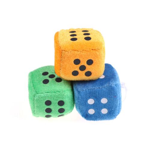 2 pezzi 4 cm peluche dadi bambola di stoffa pendente per bambini giochi puntWFI