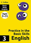 Collins Practice in the Basic Skills - English Book 3 by HarperCollins Publishers (Paperback, 2012)