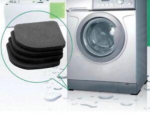 4-UNIDADES-cuadrado-NEVERA-Silencioso-Felpudo-Lavadora-antivibraciones-Pad-Shock