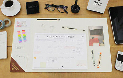 Vintage Style Desk Mat - Desk Writing Accessory Pad 550 x 320 mm - 4 Colors