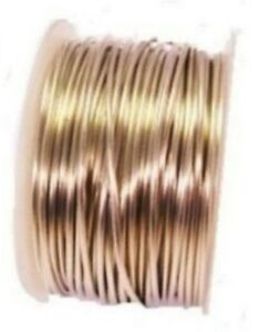 50 FT.SPOOL SOLID COPPER TINNED COPPER WIRE 12GA SOFT 1 LB