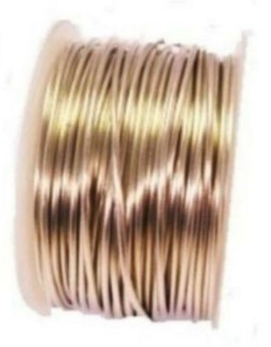 TINNED COPPER WIRE 18GA SOFT 1//2 LB 100 FT.SOLID COPPER BEADING /& WRAPPING WIRE