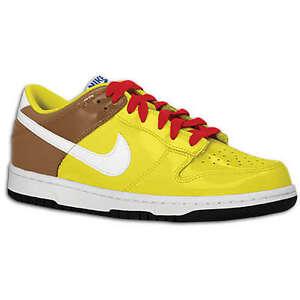 sports shoes 0f1a3 09ebc La foto se está cargando Nike-Dunk-Low-Gs-Bob-Esponja-patente-vigor-
