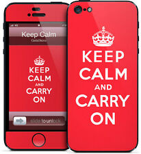Gelaskin Gelaskins iPhone 5 5S Keep Calm
