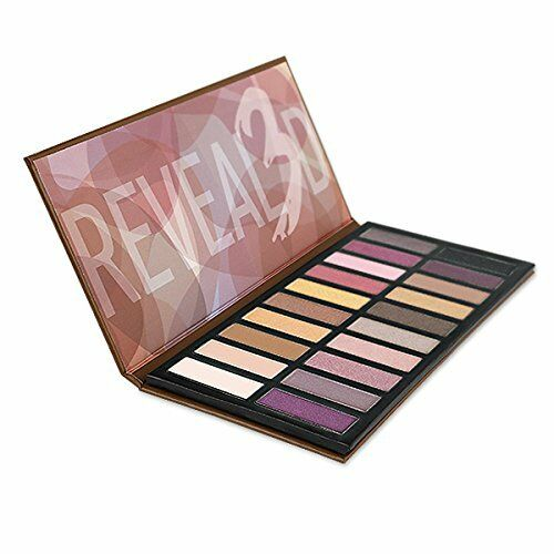 Coastal Scents REVEALED 3 Palette 20 Eye Shadow Colors  New Sealed Paraben Free
