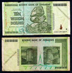10 x 50 Million Zimbabwe Dollars Bank Notes AA 2008 Currency Lot 10PCS Low Price