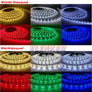 5050 LED Flexible 3M Tape Strip Light For Boat / Truck / Car/ Suv / ATV/UTV 12V
