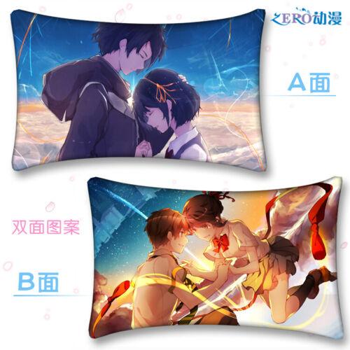 Anime Your Name Dakimakura Hugging Body Pillow Case Cover Otaku Gift 35*55cm#X-5
