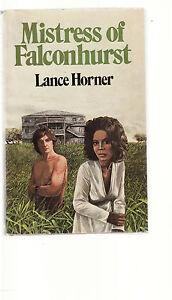 LANCE-HORNER-MISTRESS-OF-FALCONHURST-FIRST-EDITION-slaves-slavery