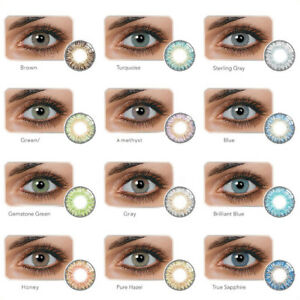 1-Pair-Colored-Cosmetic-Contact-Lenses-0-Degree-Yearly-Use-Makeup-Eyewear-Lindo