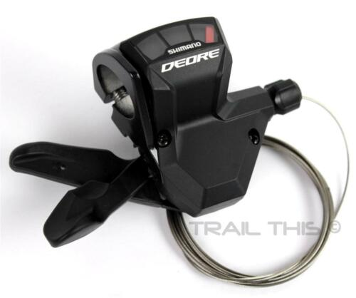 Shimano Deore SL-M590 9-Speed Bicycle Right Rear Trigger Shifter MTB Road Black