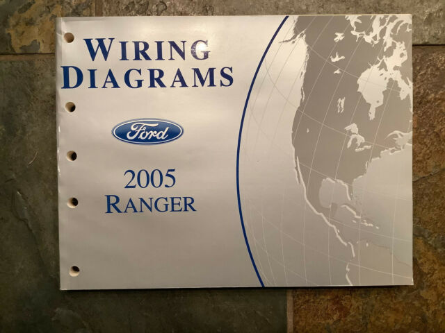 2003 Ford Ranger Pickup Truck Electrical Wiring Diagrams Manual Guide