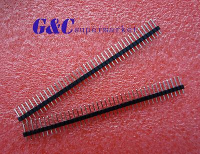 50PCS 2.54mm 40 Pin Male Single Row Pin Header Strip GOOD QUALITY