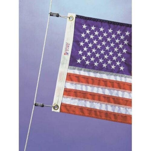 Halyard /& Outrigger Flag Clip