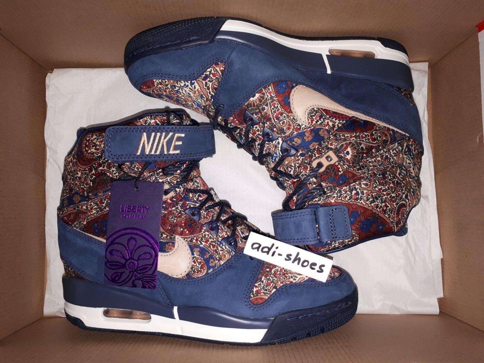 Nike Air Revolution Sky Hi Liberty of London QS g.39 g.39 g.39 us8 SP 632181 -402 Dunk City  billigt försäljning online