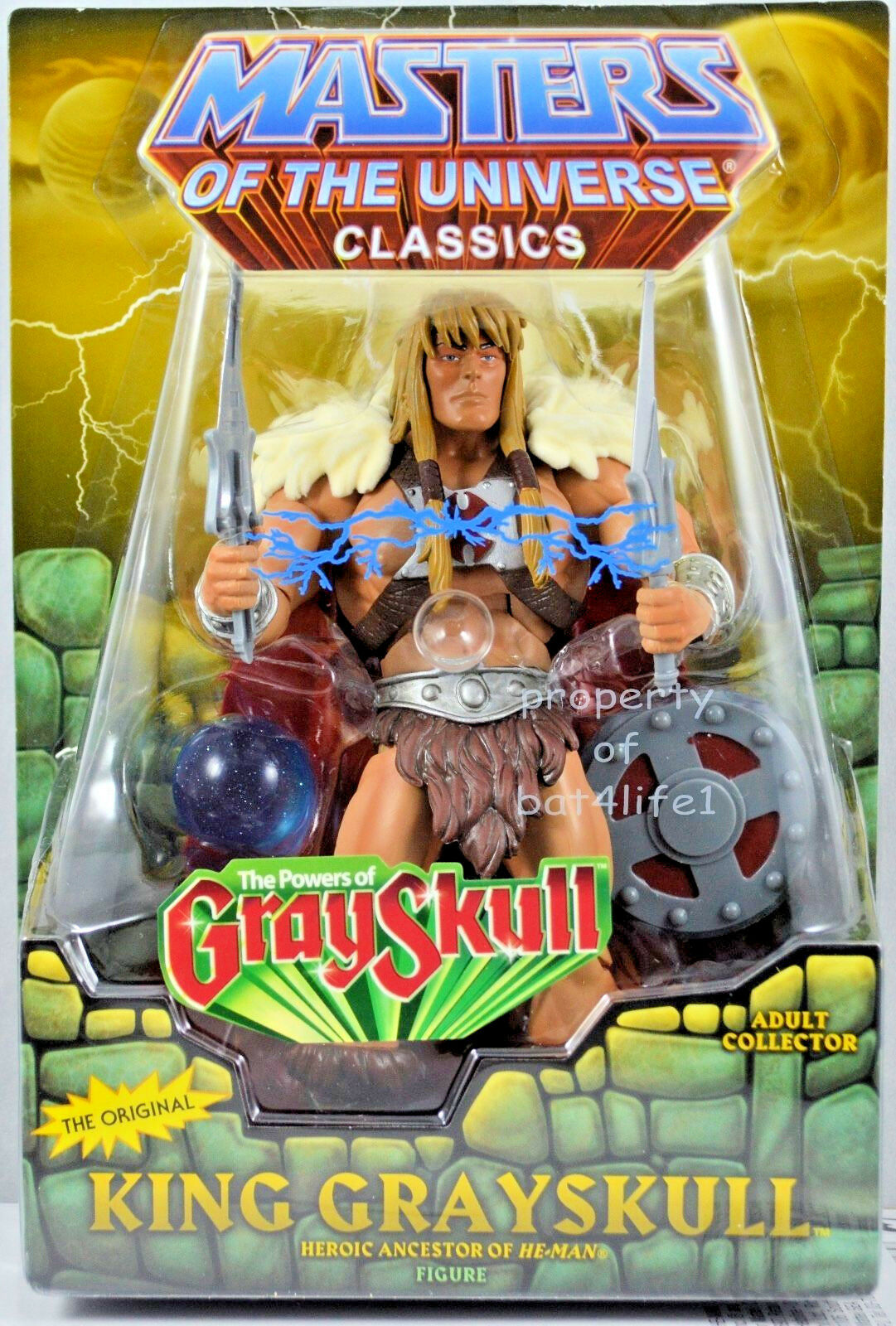 Masters of the Universe Classics King grauskull 6 Inch Action Figure With Orb