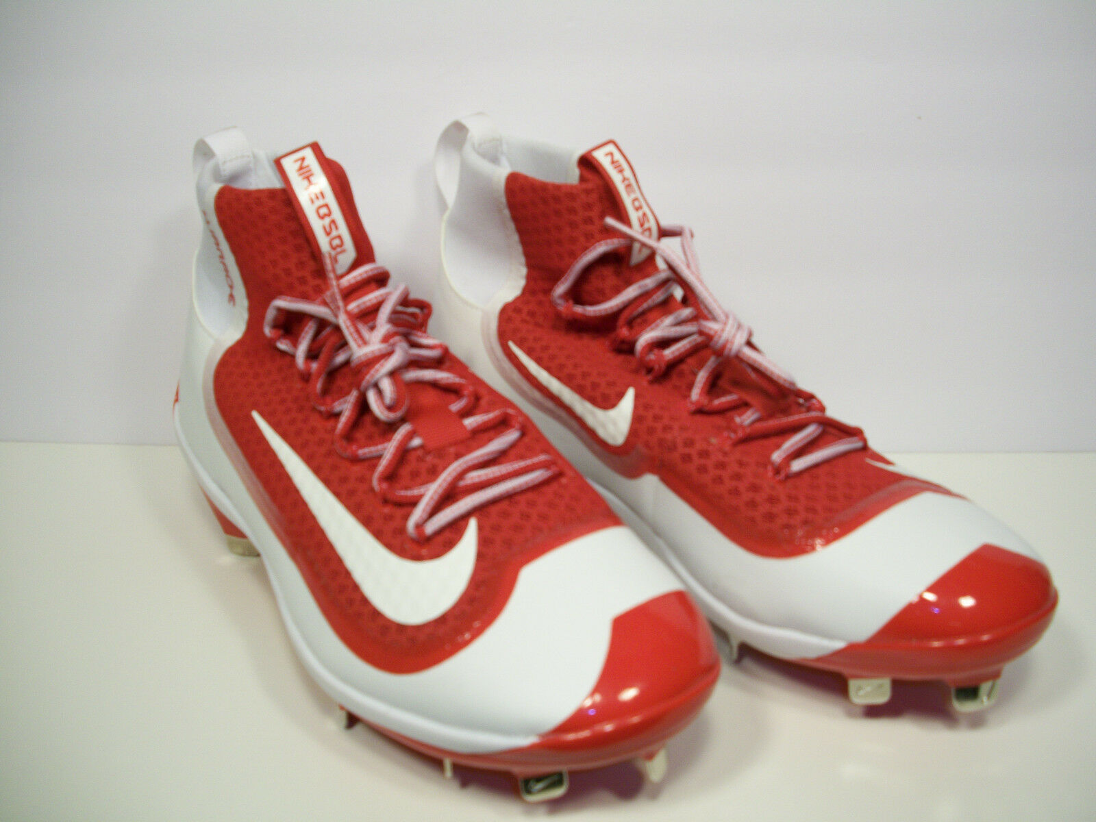 Nike Air huarache metal mugre Baseball cleats 749359-610 2K mugre metal Elite Rojo / blanco 11 98d5b7