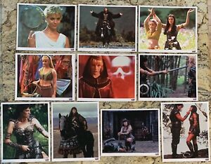 XENA-Warrior-Princess-8-x10-Photos-Lot-Of-10-Lucy-Lawless