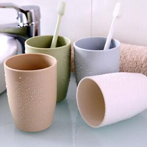 Rinsing-Wash-Tooth-Mug-Toothbrush-Holder-Circular-Plastic-Cup-Bathroom-Useful