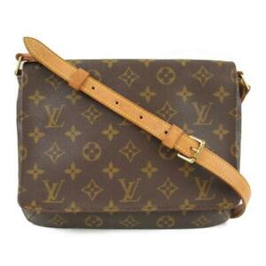 Auth-LOUIS-VUITTON-Musette-tango-short-shoulder-bag-M51257-Monogram-canvas-Used