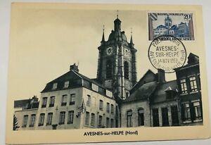 542-Antica-Cartolina-Avesnes-Sur-Helpe-Nord