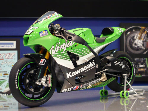 Tamiya 14109 112 Scale Motorcycle Model Kit Kawasaki Ninja ZXRR '06 MotoGP